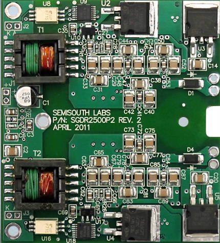 Sic Driver Board For Production And Evaluation