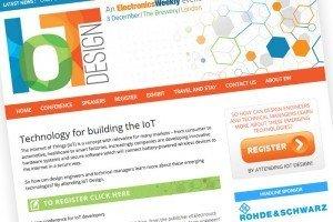 IoT Design tilted