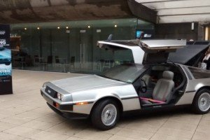 Queen's University goes Back to the Future with electric DeLorean