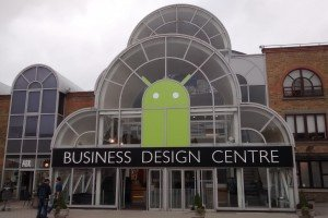 Droidcon London 2015 - Droid at the Business Design Centre