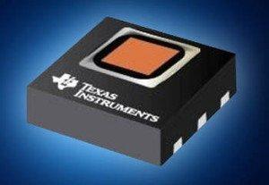TI HDC1050 humitidy sensor