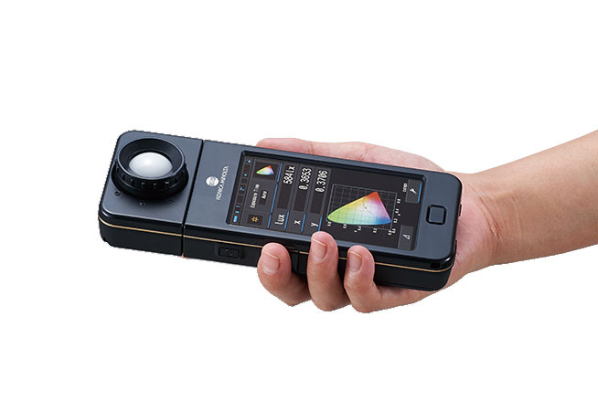 Photometer measures LED brightness and spectrum