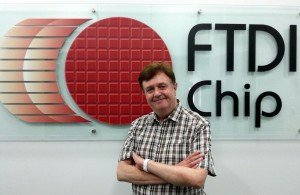 Fred Dart, founder and CEO FTDI Chip