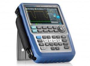 Rohde & Schwarz has announced a portable 500MHz scope - Rider