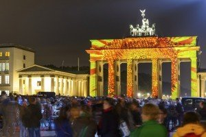 Berlin Fan Mile at New Year