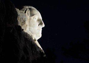 Musco Mount Rushmore - LEDs light US icons