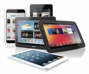 Tablet shipments slip