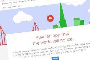 The AdMob Student App Challenge