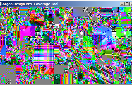Sample video frame from an Argon Streams VP9 bit-stream, shows the directed random number based approach.