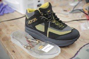 energy harvesting shoe