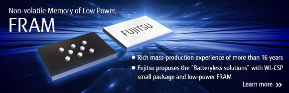 Fujitsu samples Quad SPI FRAM