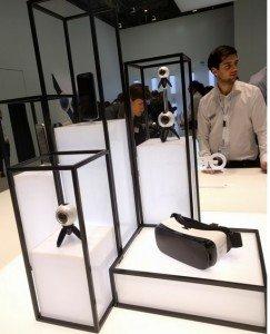 Samsung Gear VR and Gear 360