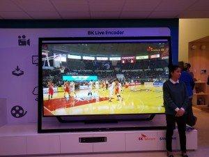 Samsung's 8K television