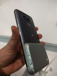 LG G5 phone, modular style