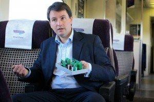 Dr Zane van Romunde - Design house builds on 'Tomorrow's Train' success