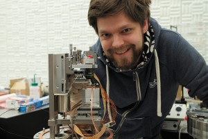 Fabian Menges of IBM - IBM Zurich invents nanoscale thermometer