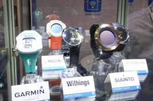 Wearables on the Nordic Semi stand