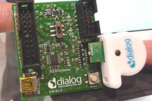 Dialog 12DOF sensor interface board