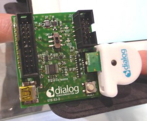 Dialog 12DOF sensor interface board