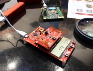 Texas Instruments low-power reference design
