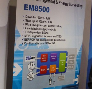 EM Microelectronic power management controller