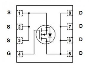 Fairchild FDMS86181 100V mosfet