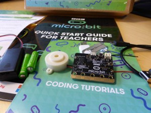 micro:bit What arrived