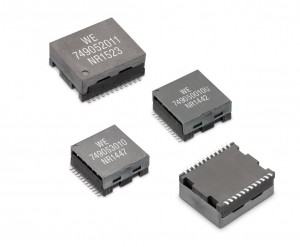 Würth transformers operate up to 10Gb/s