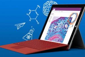 Microsoft Surface 3 with optional keyboard