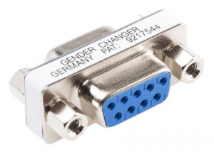Mini Gender Changer DB9-DB9 - an example of simple yet ingenious D-Connectors