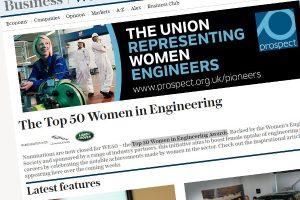 top women in engeering