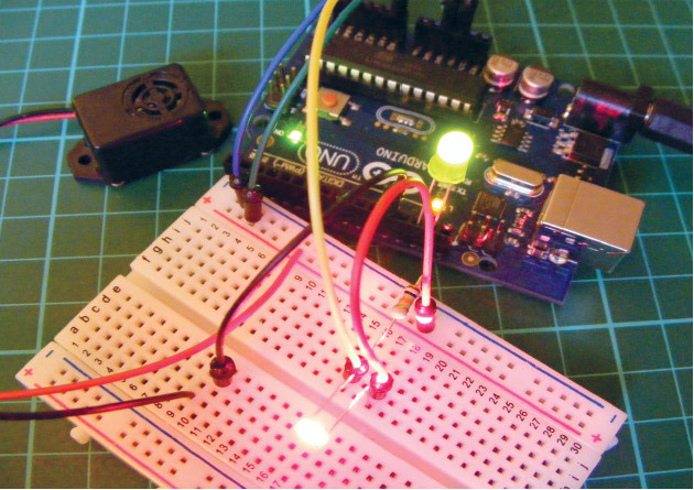 how to build laser alarm