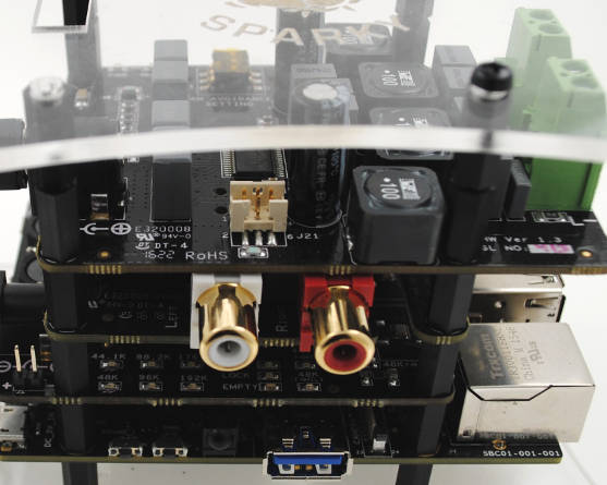 Hi-Fi audio stack for Raspberry Pi includes jitter re-timing