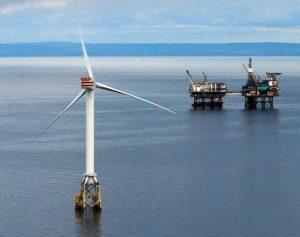 Beatrice wind turbine. Image courtesy of Scottish Enterprise