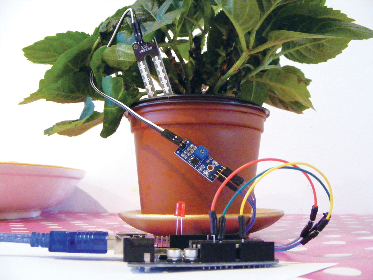 How to build a plant monitor with arduino
