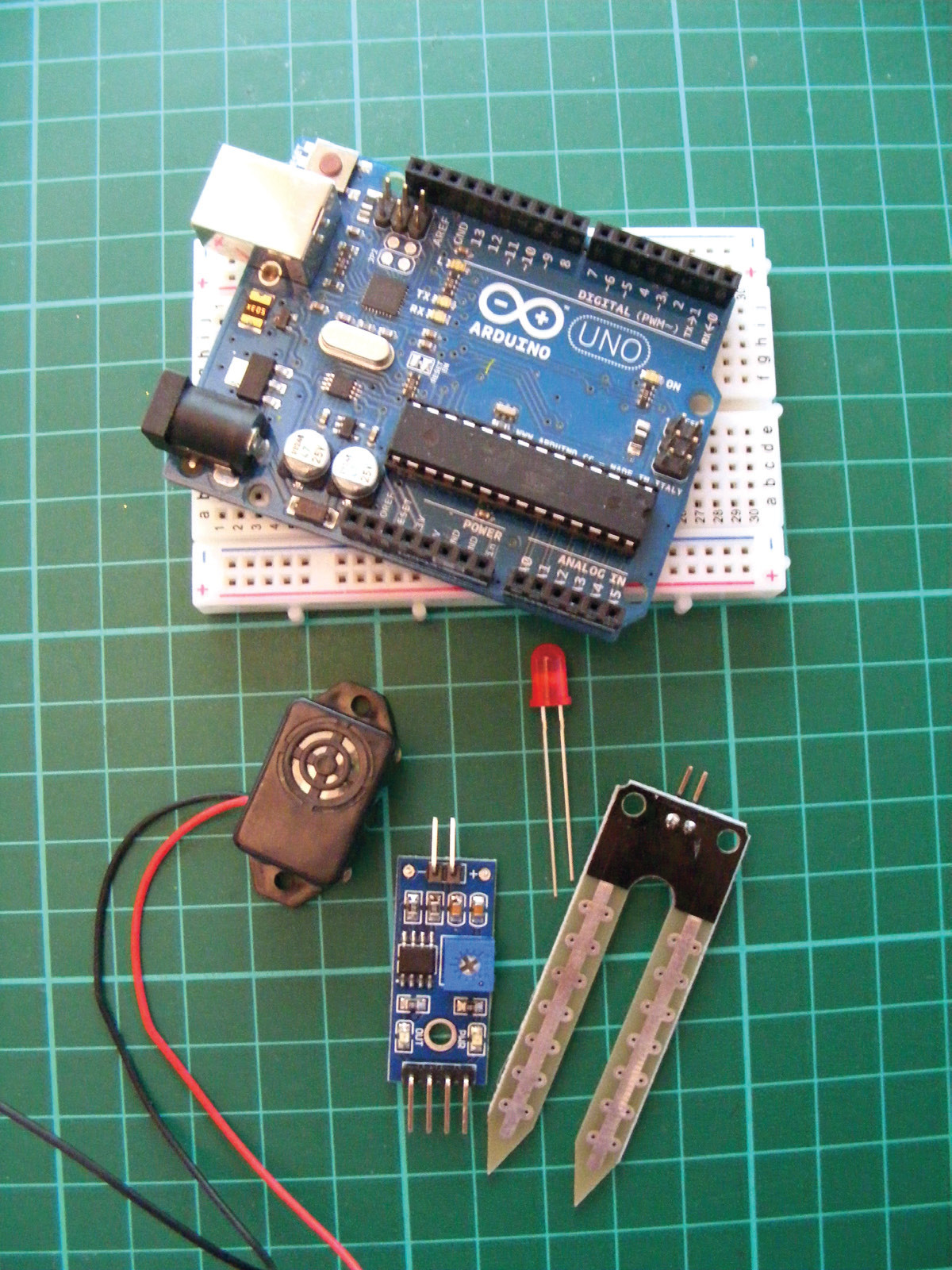 How To Build A Plant Monitor With Arduino Talking Heart Rate Circuit 0
