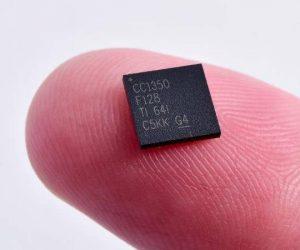 TI CC1350 chip - iotadda