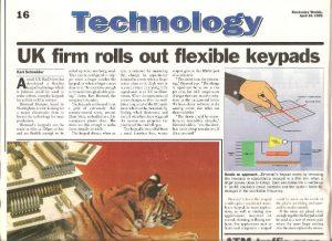 Binstead 1995 touch screen