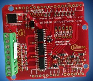 Mouser Infineon ProFet Arduino shield