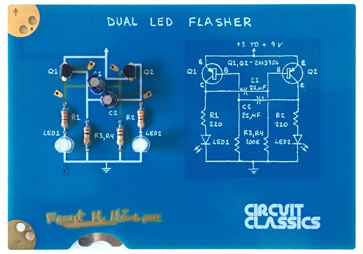A nice circuit board tribute to Forrest M. Mims