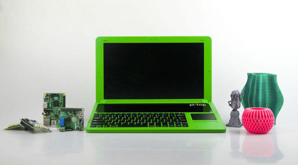 pi-top desktop setup