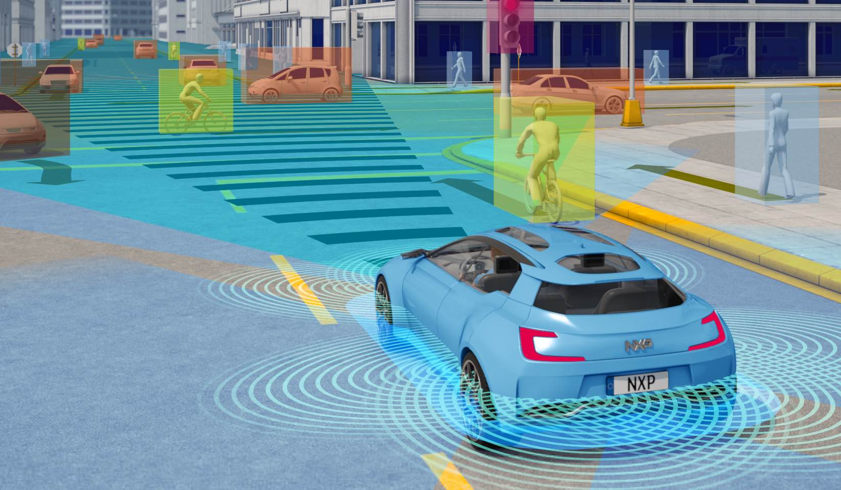 Ces Autonomous Cars And The Sensors To Make Them Safe