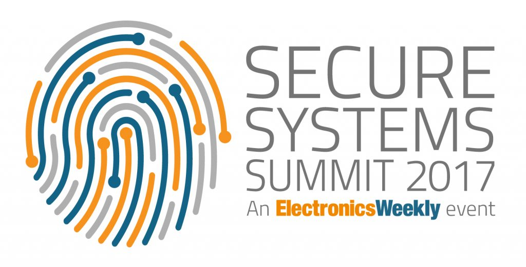 Secure Systems Summit 2017 - Designing in security - logo