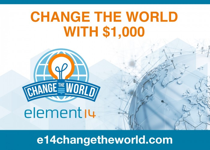 A competition for electronics to Change the World