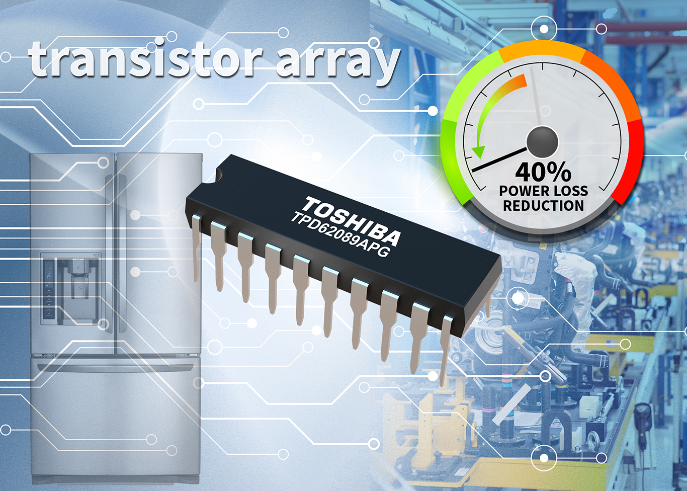 Toshiba launches transistor array for HV transmitters
