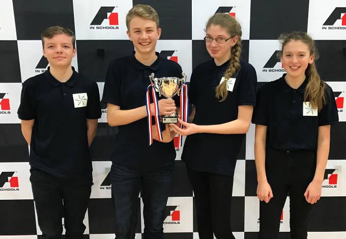 tdklambda mentors winning students in stem racing competition