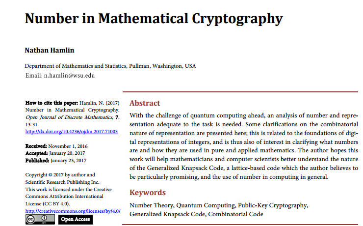 quantum cryptography thesis 2013