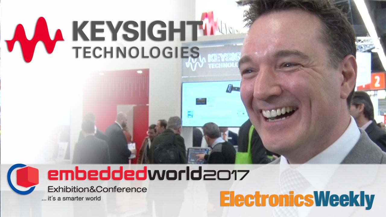 EW: Video Interview – Keysight Technologies on InfiniiVision 1000X oscilloscopes