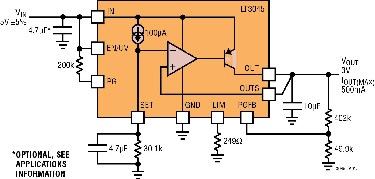 When Is It Best To Use Ldo Regulators Accurate Low Voltage Power Content From Electronic Design