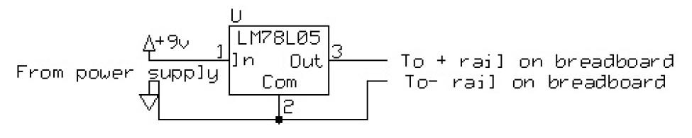 Arduino regulator wired up
